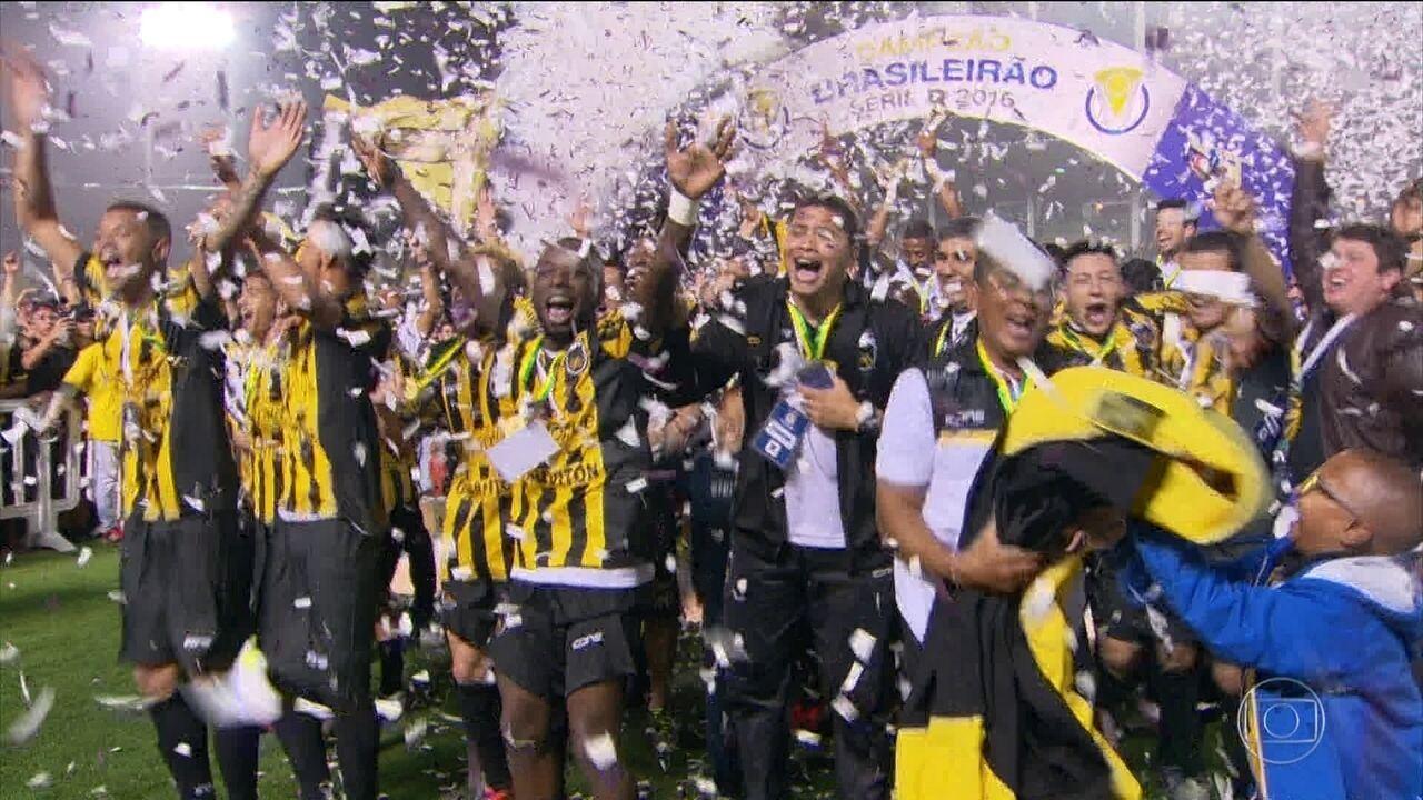 Volta Redonda é campeão invicto da Série D do Brasileirão