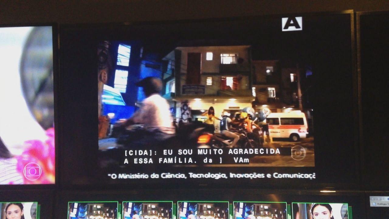 Assista: Mensagem sobre o desligamento do sinal analógico exibida durante a programação