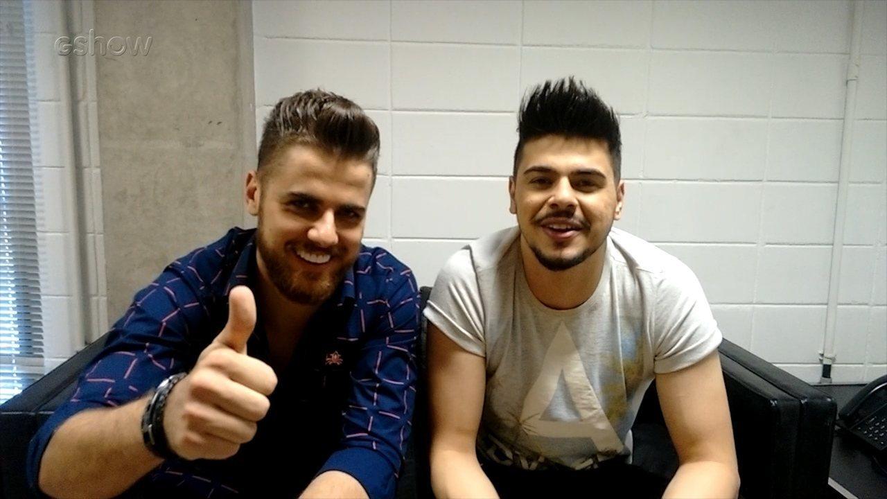 Zé Neto & Cristiano falam sobre o sucesso 'Seu Polícia'