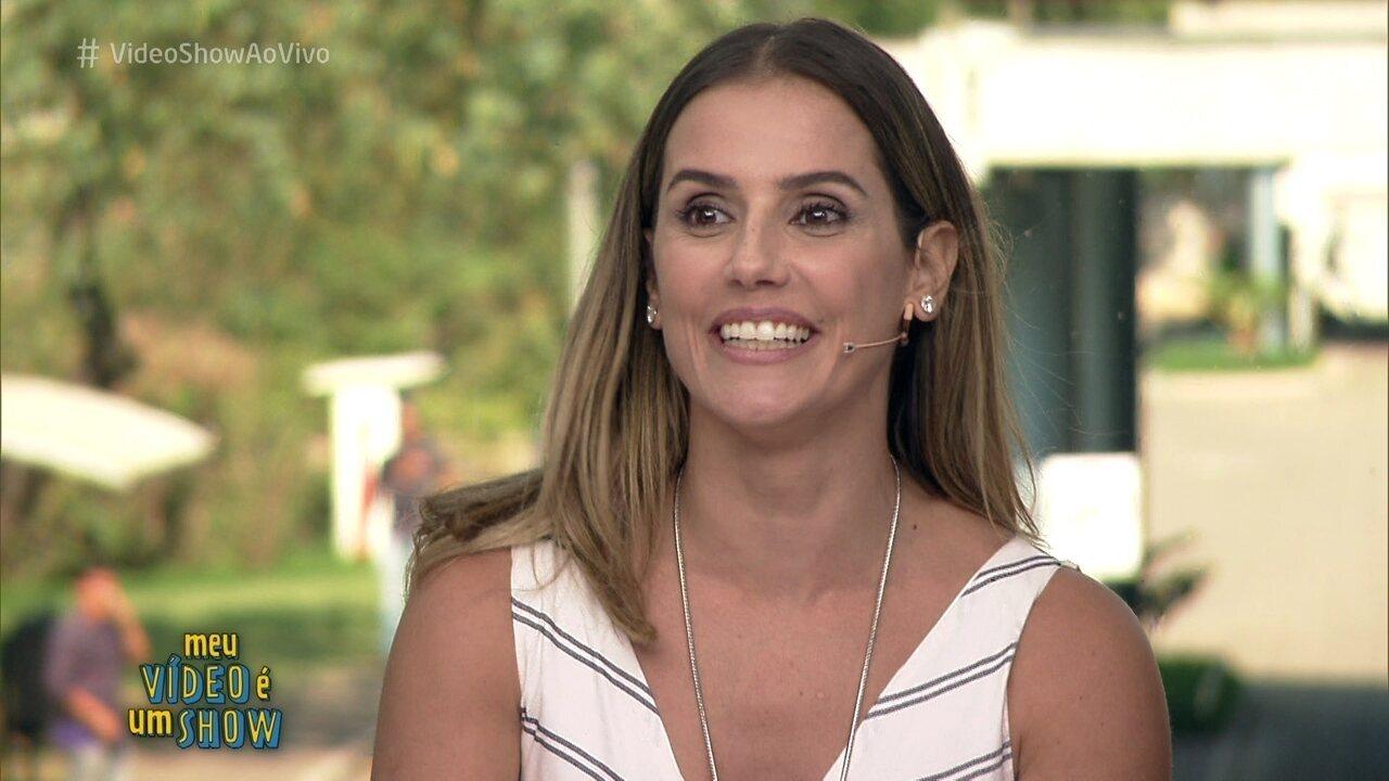 Deborah Secco revisita carreira no 'Meu Vídeo É Um Show'