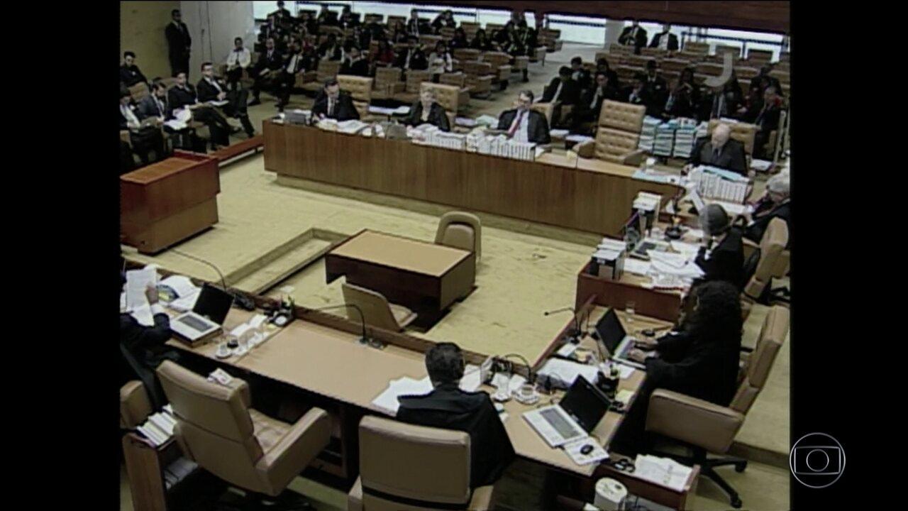 Maioria do STF rejeita réus na linha sucessória da presidência do país