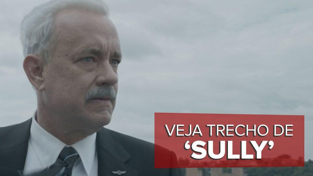 Assista a um trecho de 'Sully: O herói do Rio Hudson', com Tom Hanks