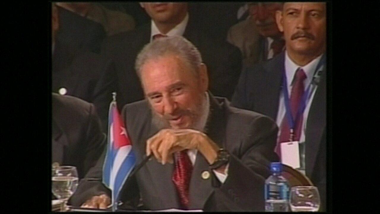 """""""Ele se transformou quase que numa lenda viva"""", diz historiadora sobre Fidel Castro"""