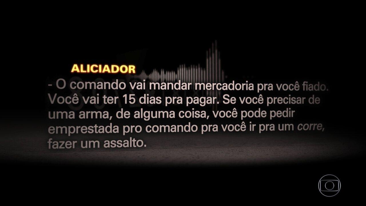 Facção de SP alicia traficantes cariocas para ampliar atuação no RJ