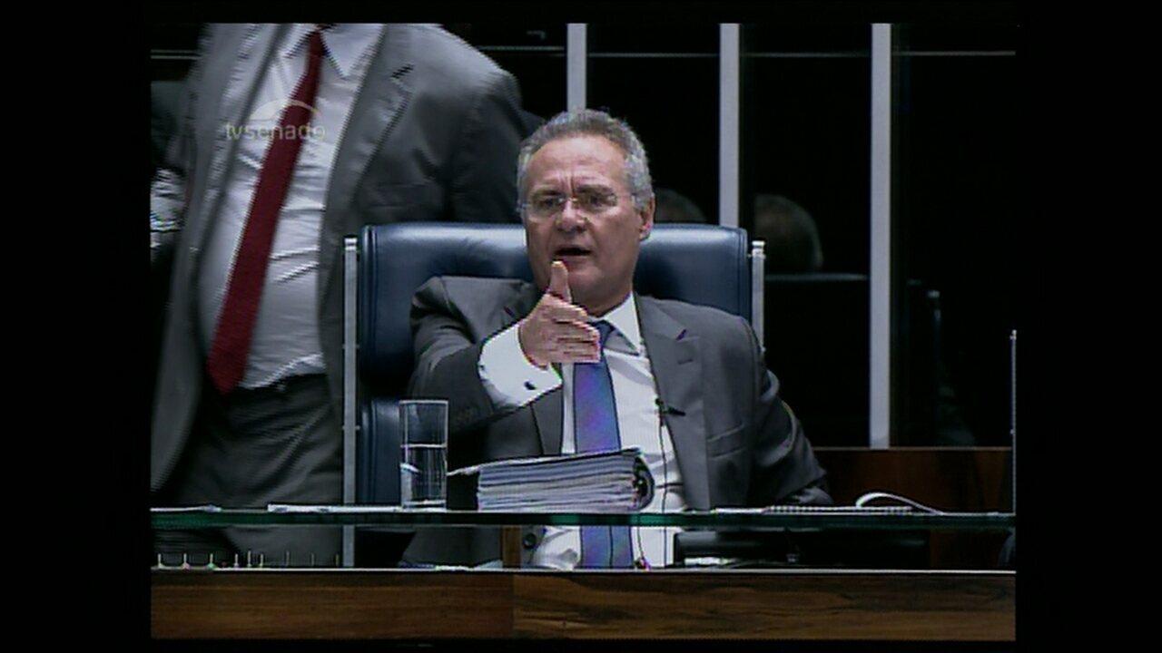 Plenário do Senado aprova a PEC do teto dos gastos em primeiro turno