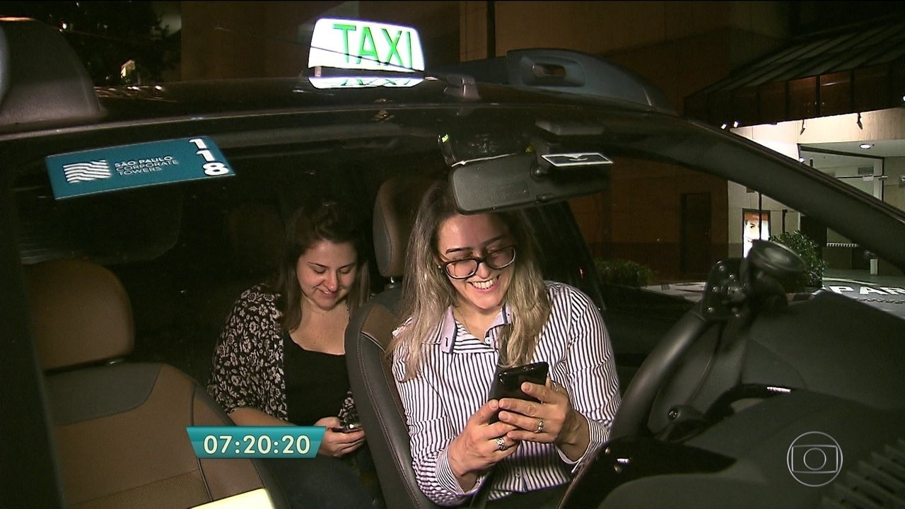 Aplicativo cria opção que dispõe de taxistas mulheres
