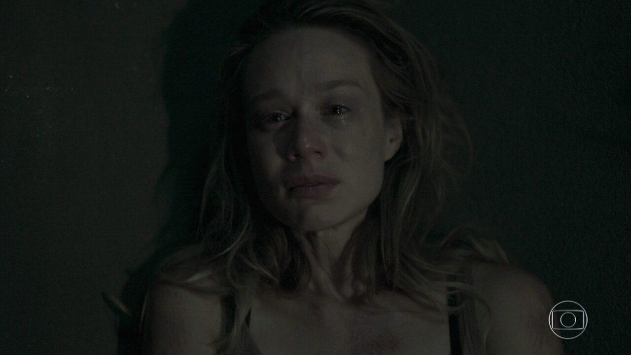Bruna lembra da morte da mãe