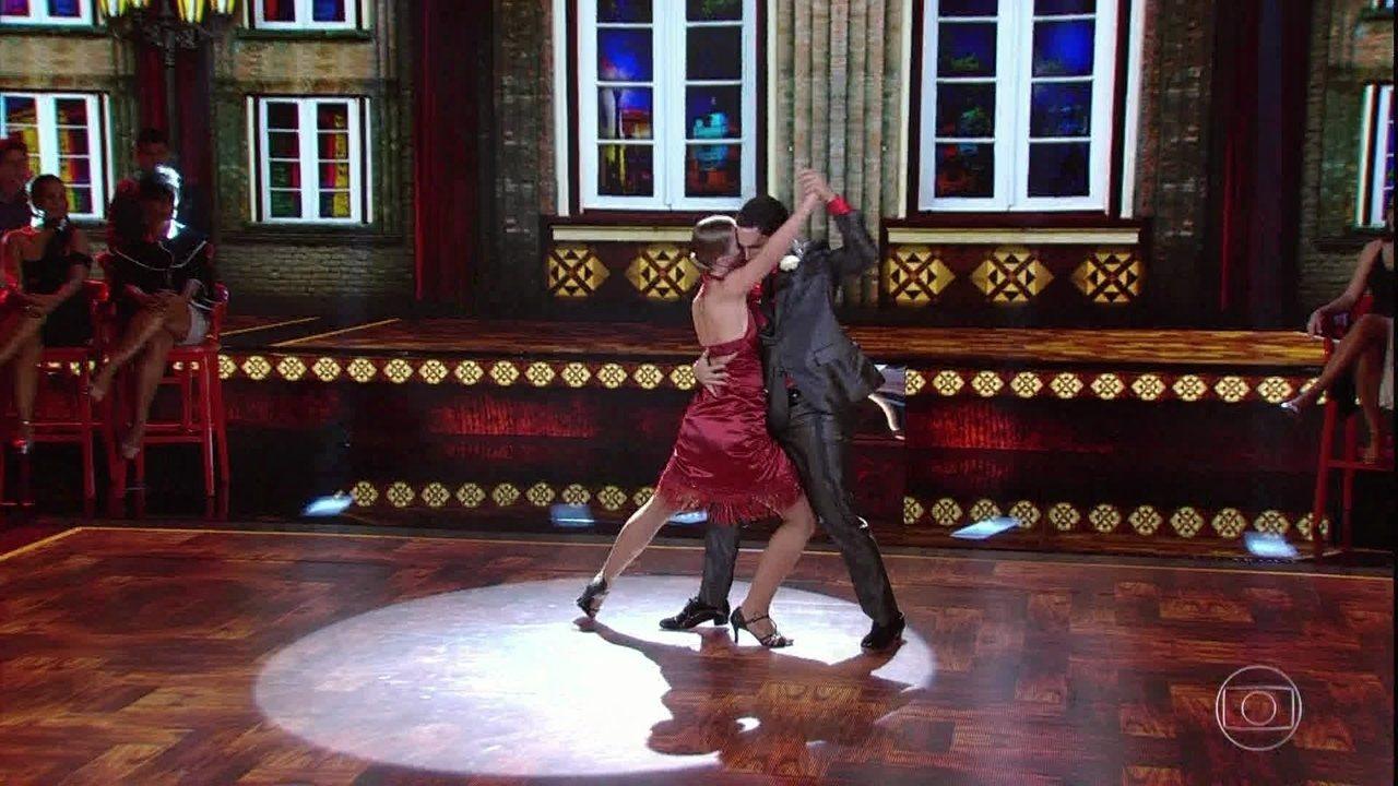 Confira a apresentação de Rainer Cadete no tango