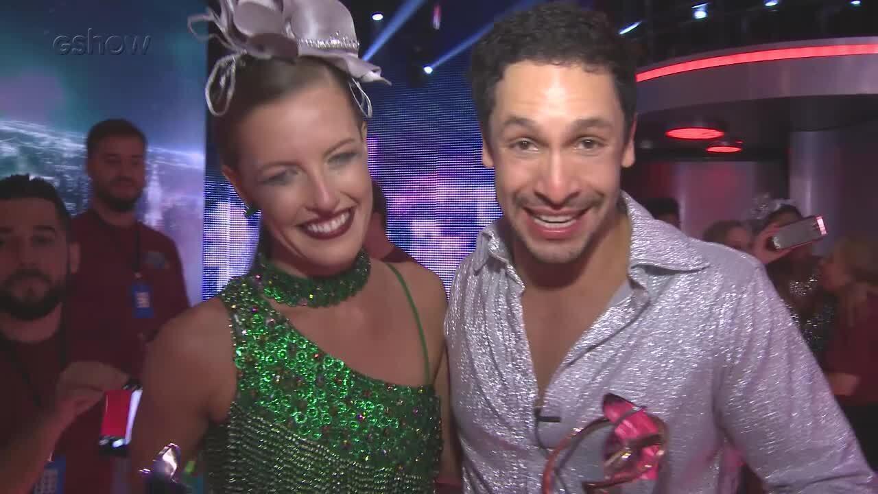Rainer Cadete fala sobre o terceiro lugar no Dança 'dos Famosos'