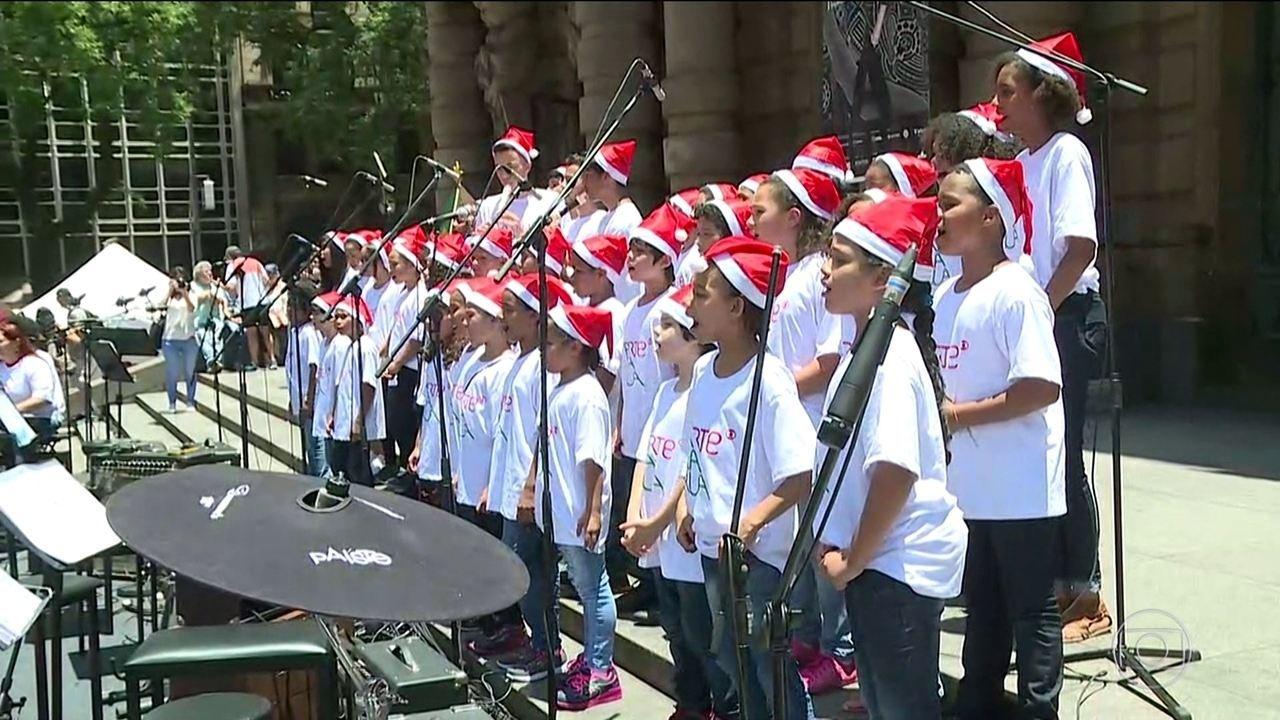 SP tem diversos eventos de Natal espalhados pela cidade