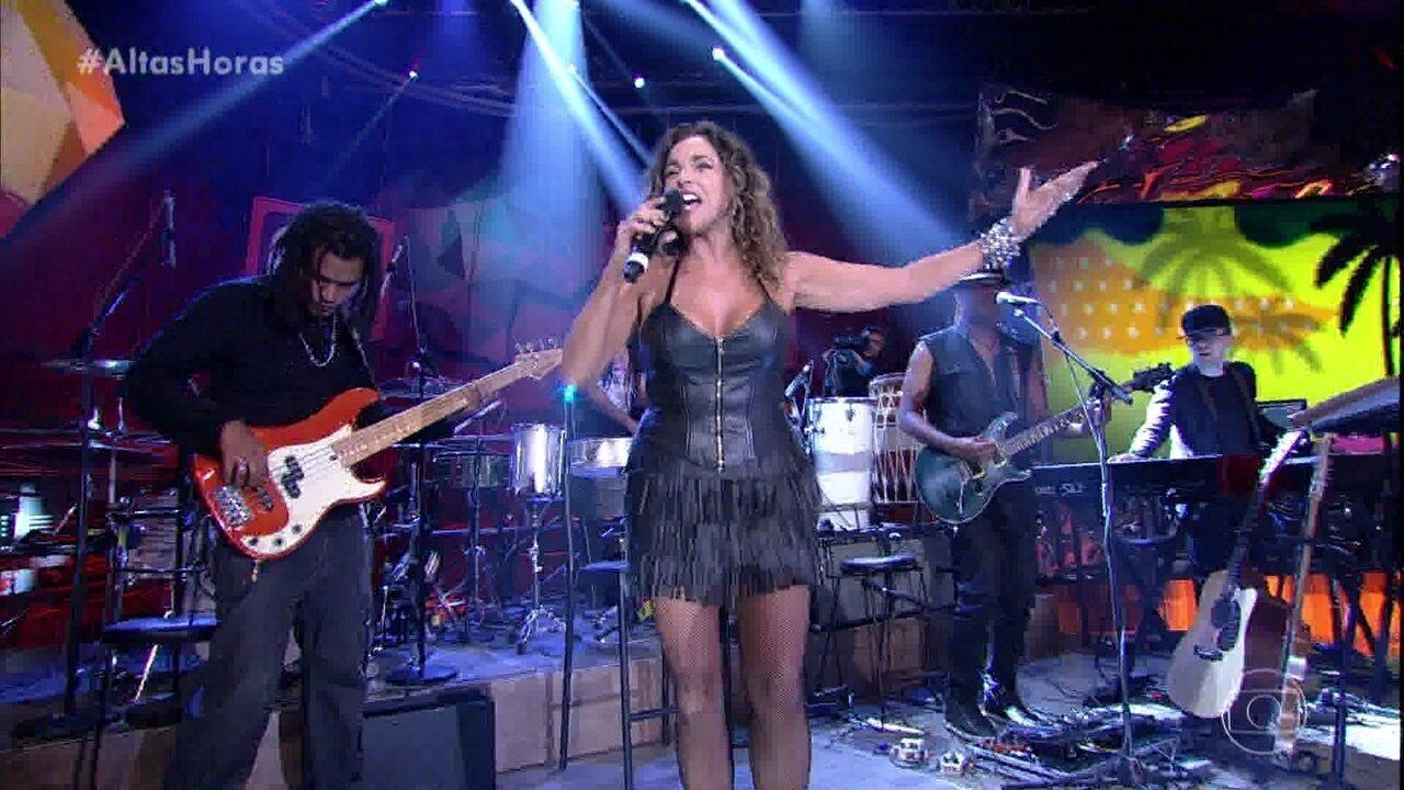 Daniela Mercury canta 'Pérola Negra'