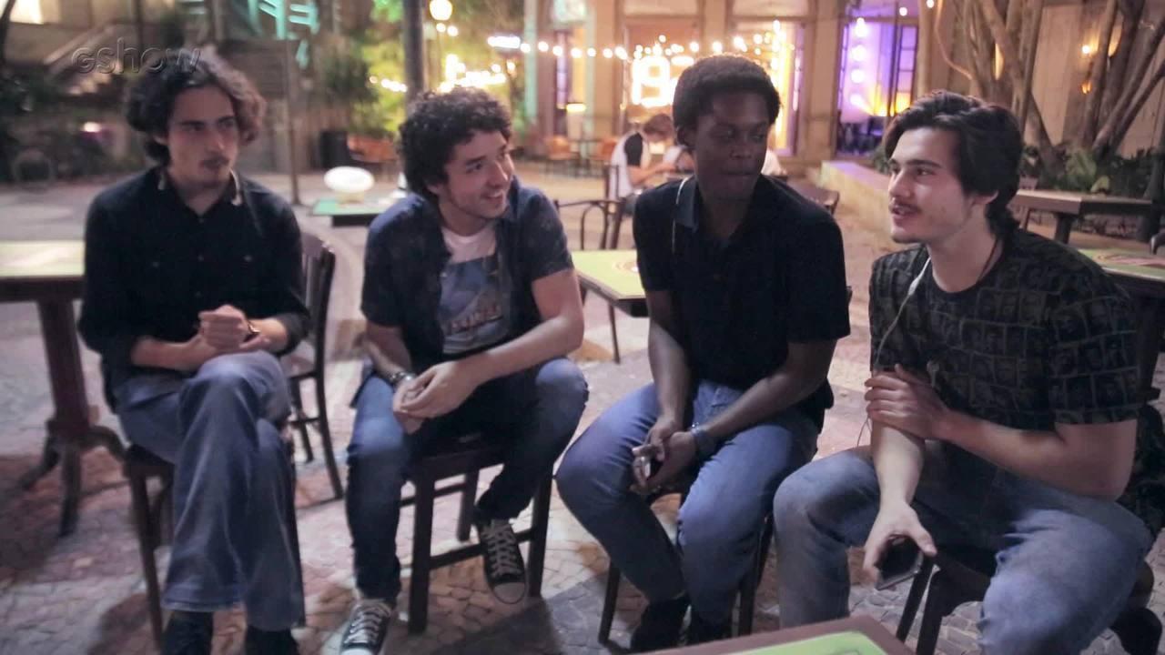 Veja os bastidores da gravação do primeiro show da Banda 4.4