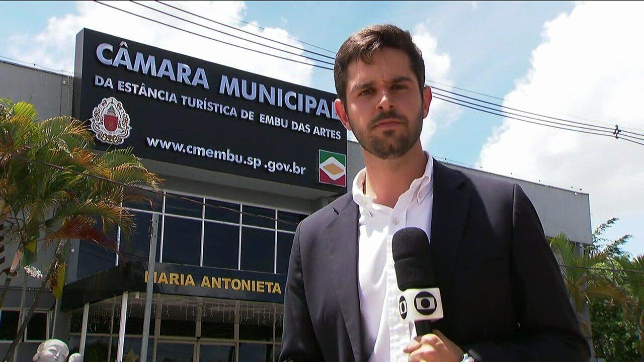 Presidente da Câmara de Vereadores assume prefeitura de Embu das Artes