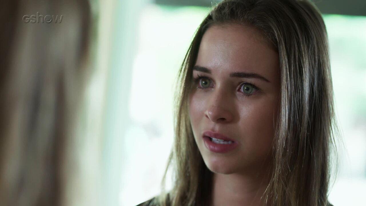 Teaser Malhação - 03/01: Martinha conta para Jéssica que está grávida!
