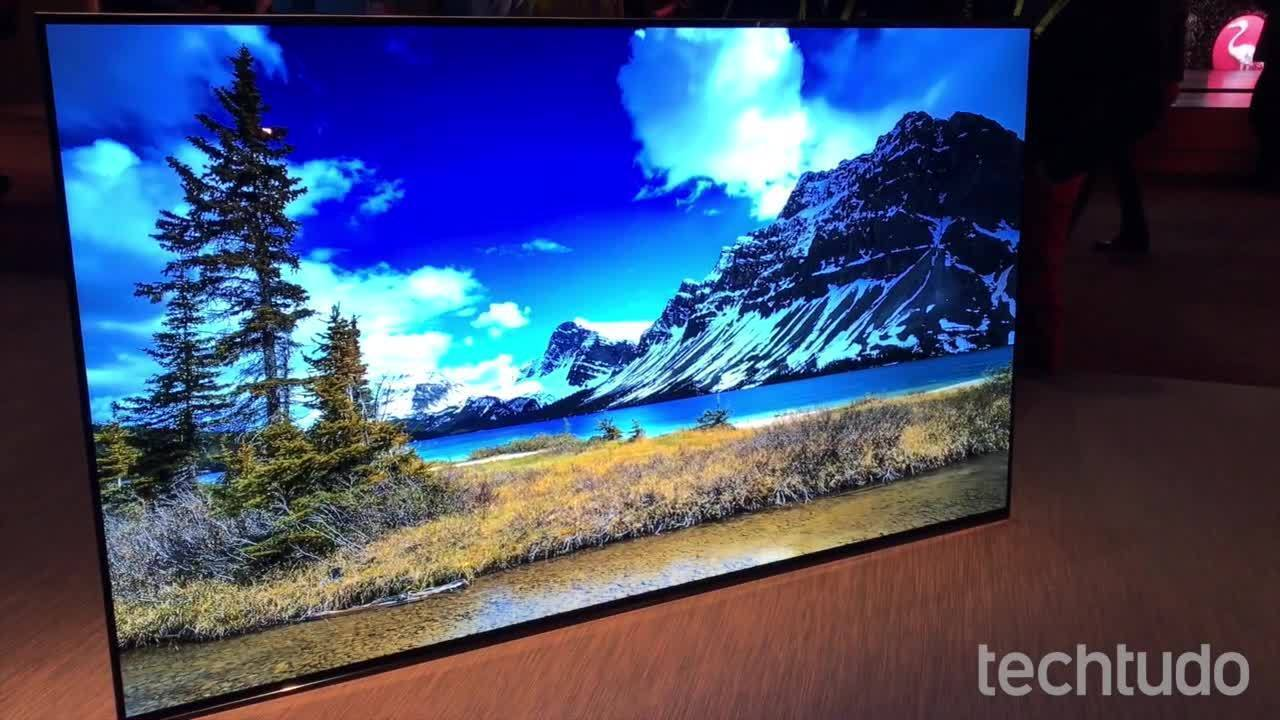 Veja as Smart TVs mais finas da CES 2017
