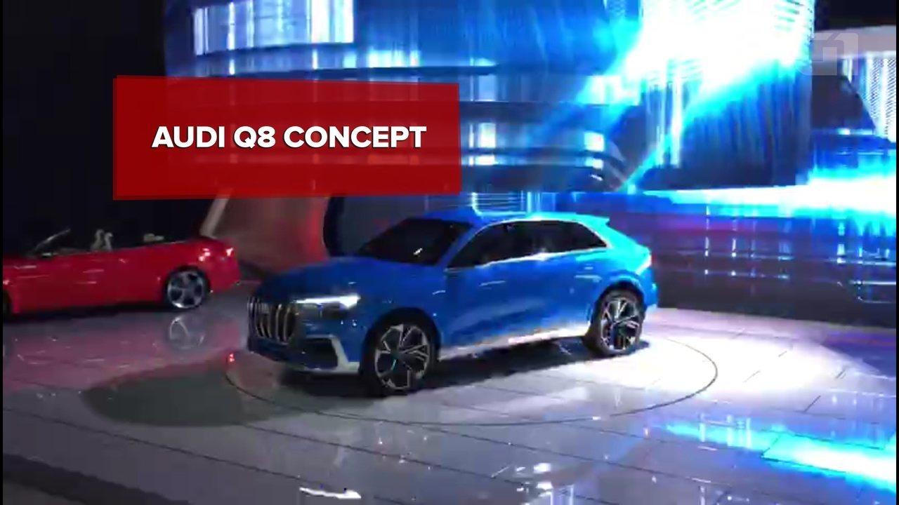 Salão de Detroit 2017: Audi Q8 Concept e SQ5