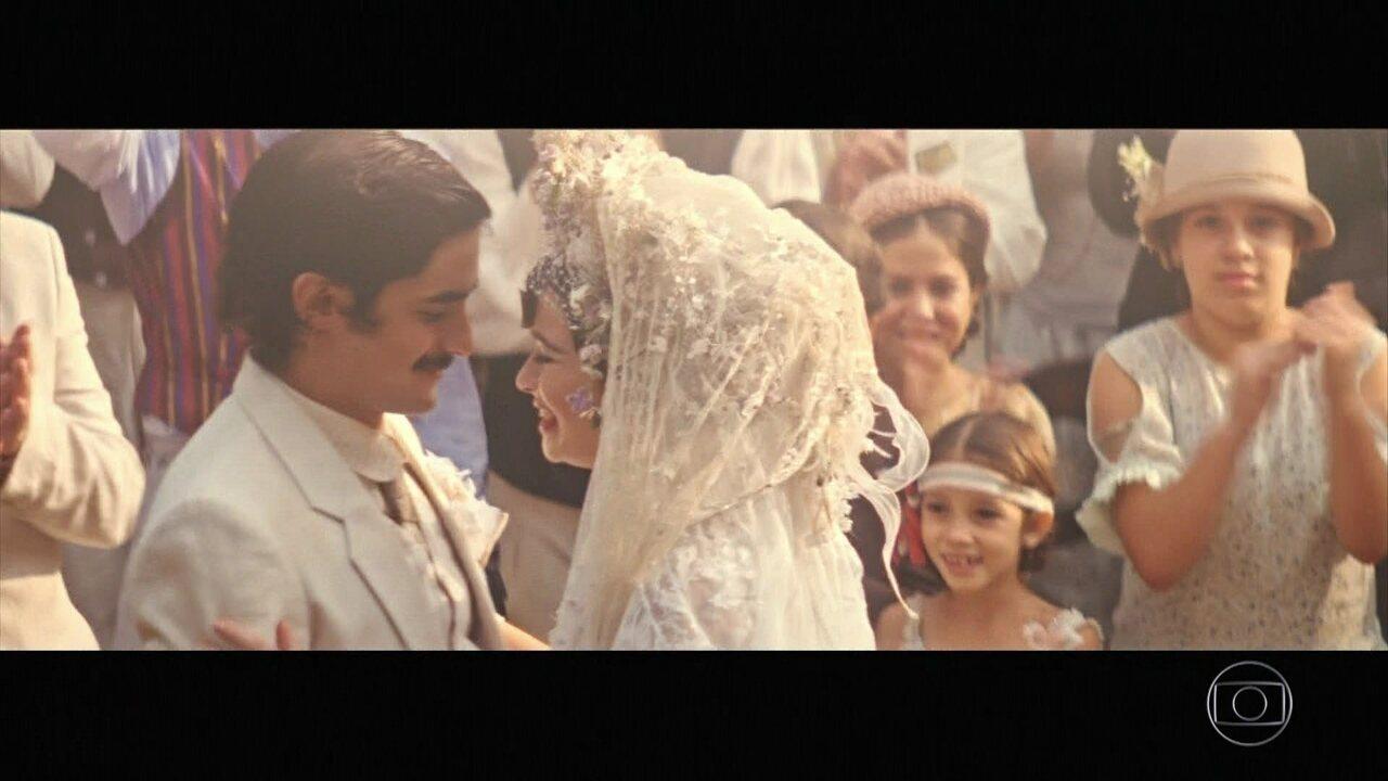 Zana aceita pedido e se casa com Halim