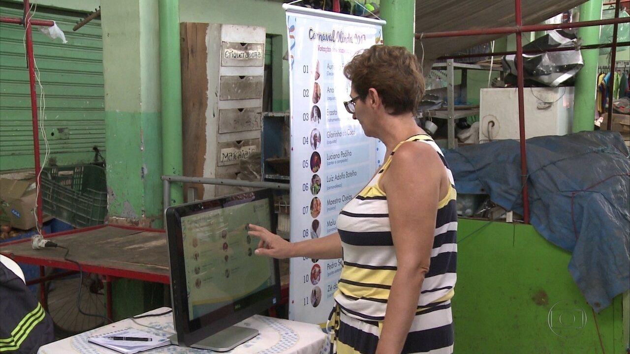 Homenageados do carnaval de Olinda são escolhidos através de votação popular