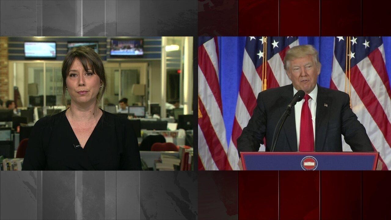 Em coletiva, Trump negou ter negócios com a Rússia e criticou o vazamento de documentos