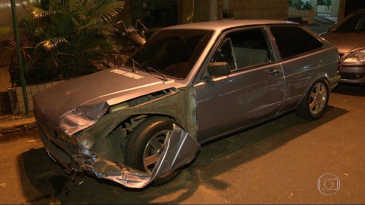Motorista foge da Lei Seca na contramão e fere um PM em Copacabana