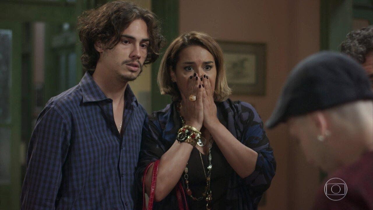 Gilda pressiona Nicolau e Caio revela que tem câncer