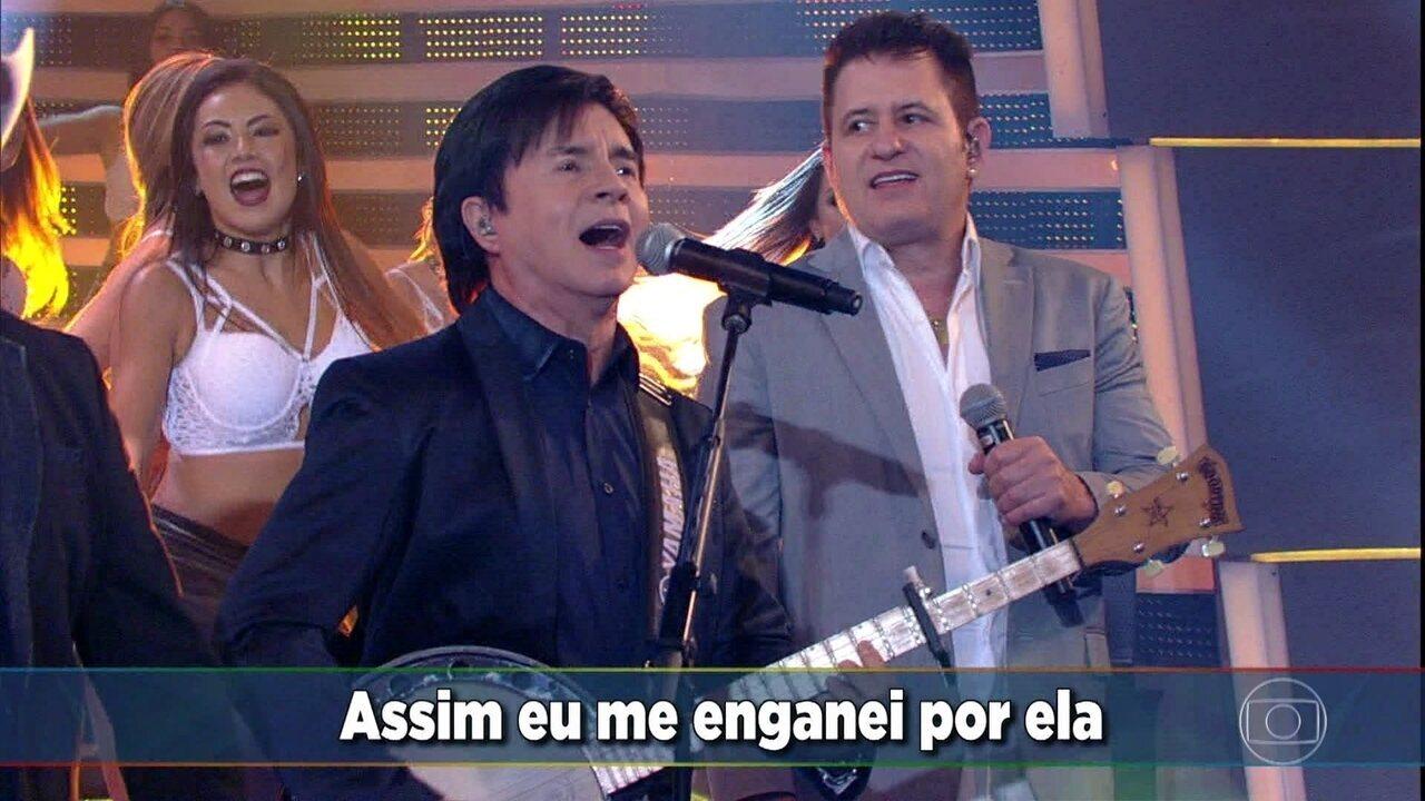 Chitãozinho e Xororó e Bruno e Marrone cantam