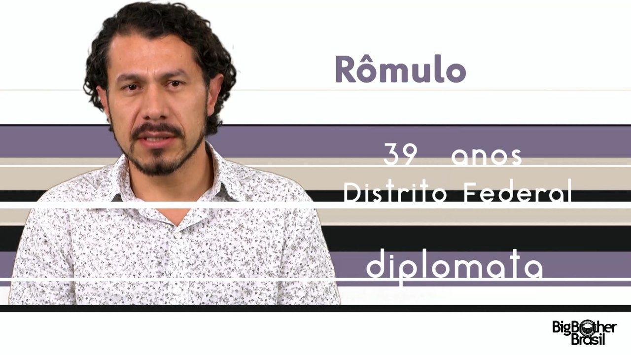 Conheça Rômulo, o novo participante do BBB 17