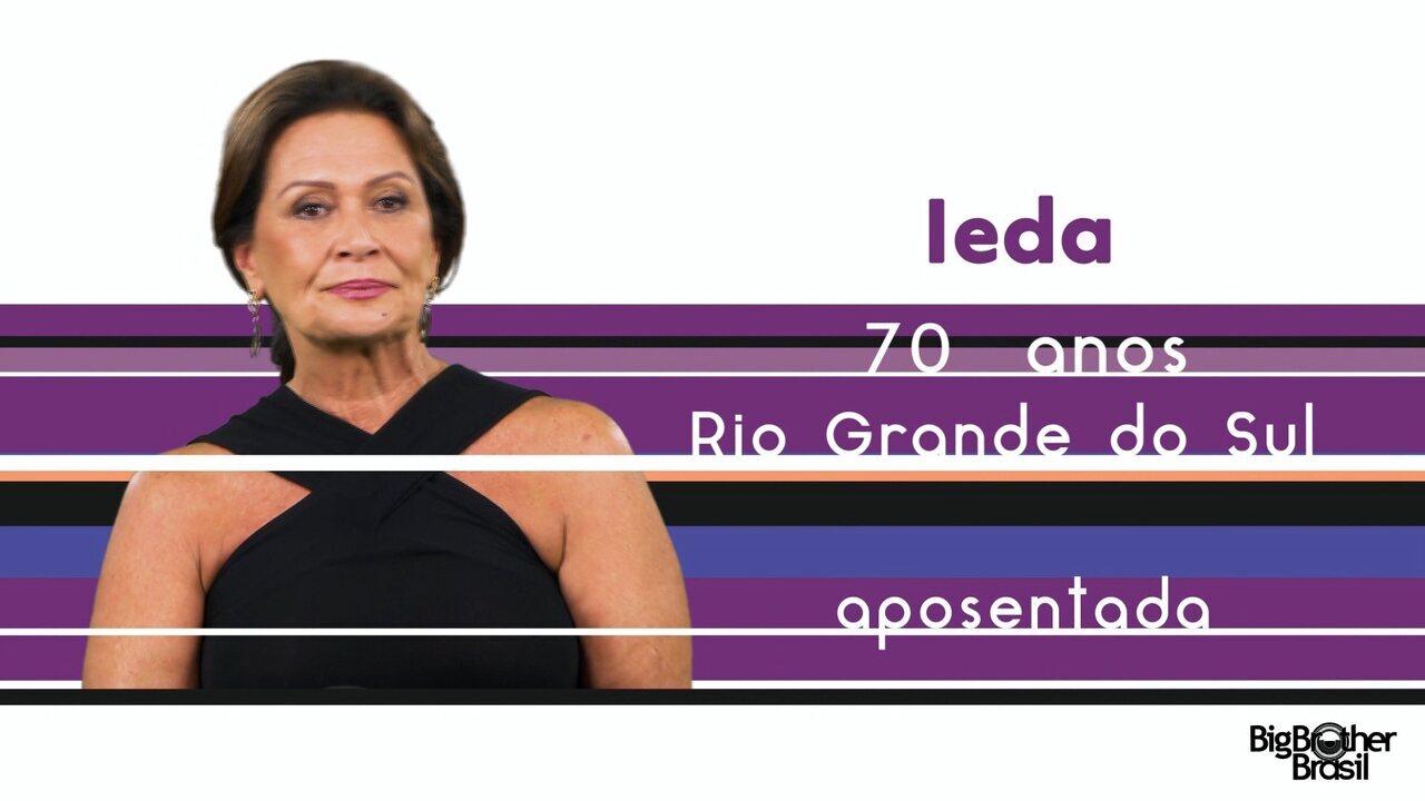 Conheça Ieda, a nova participante do BBB 17