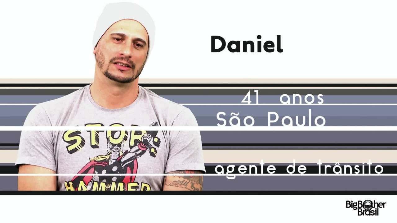 Conheça Daniel, o novo participante do BBB 17