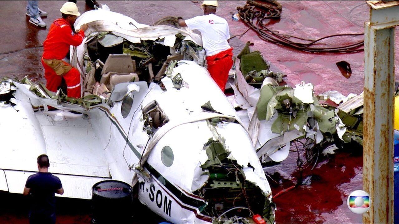 Justiça decreta sigilo na investigação sobre queda de avião em Paraty