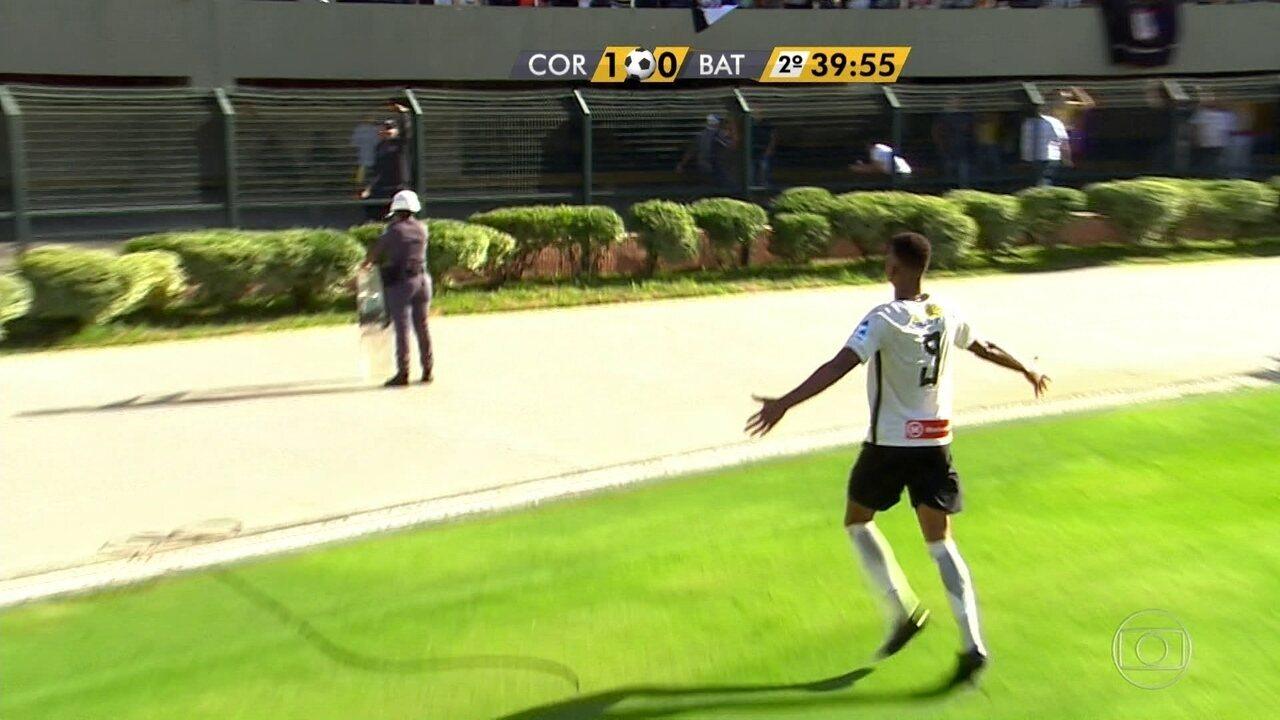 Lembre gol de Carlinhos pelo Timão na Copinha de 2017