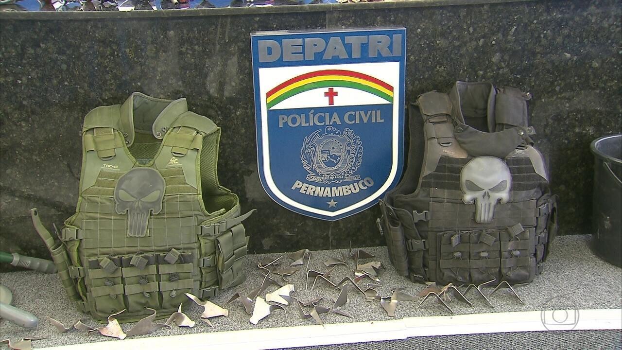 Suspeitos de 15 crimes contra bancos tinham material para explodir quase 200 caixas