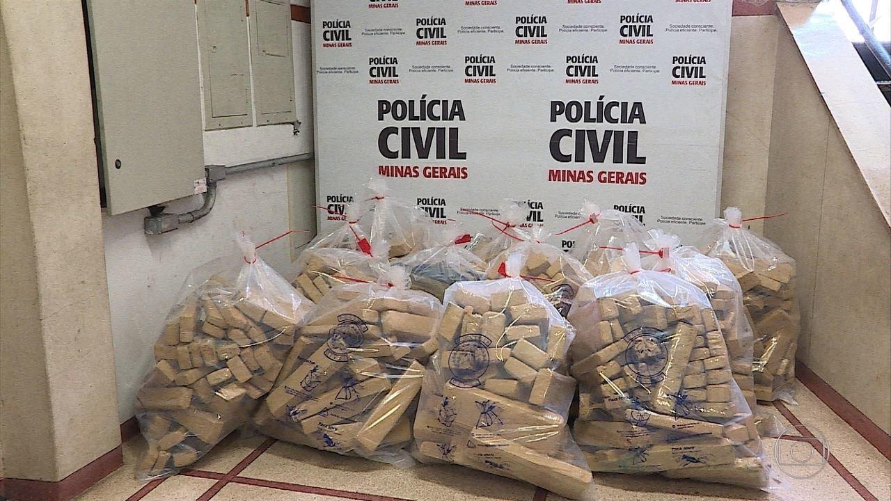 Polícia apreende cerca de 500 quilos de maconha em Igarapé