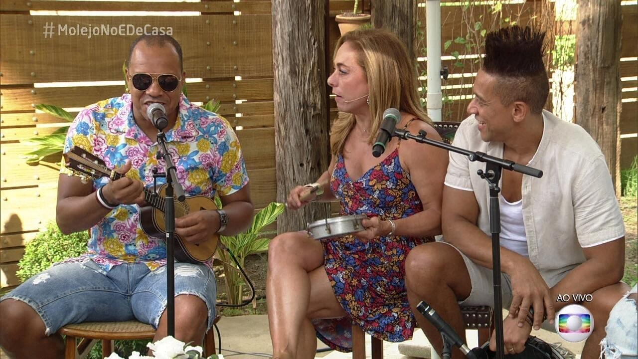Molejo canta 'Caçamba'