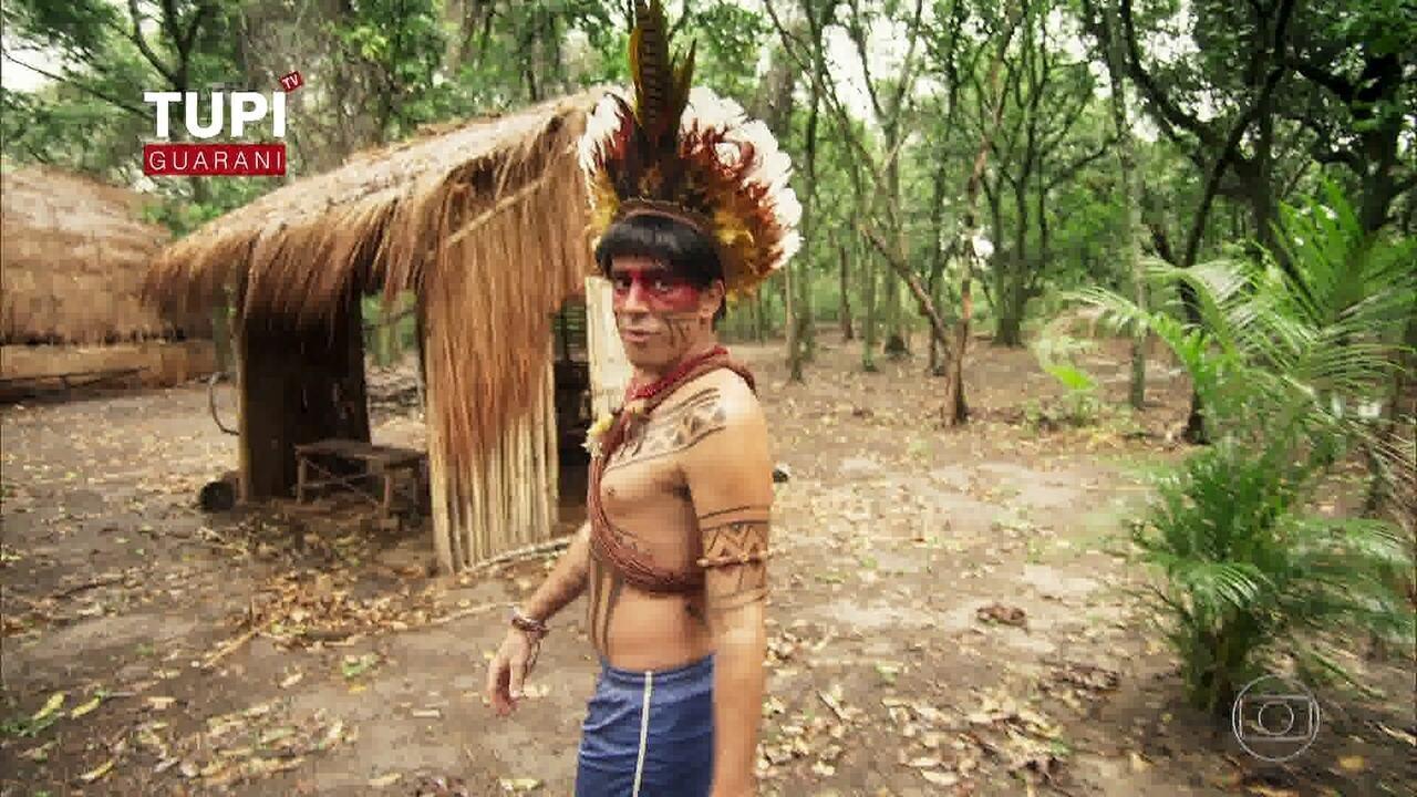 Índio Obirajara quer ir para a cidade