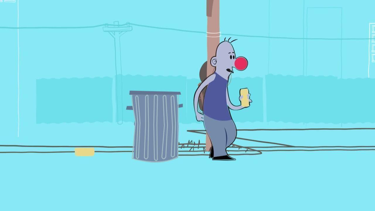 Não seja o palhaço do bloco, lugar de lixo é no lixo e aproveite o carnaval