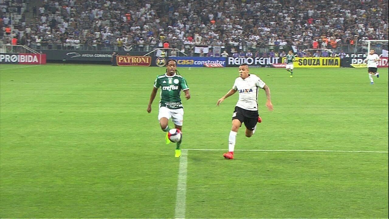 Melhores momentos de Corinthians 1 x 0 Palmeiras pelo Campeonato Paulista 2017