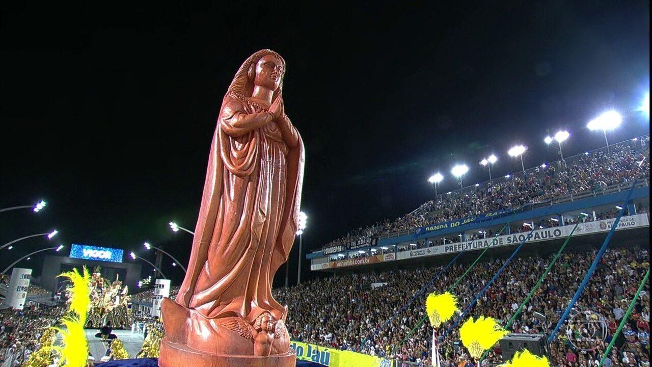 Unidos de Vila Maria mostra a fé brasileira em Nossa Senhora de Aparecida