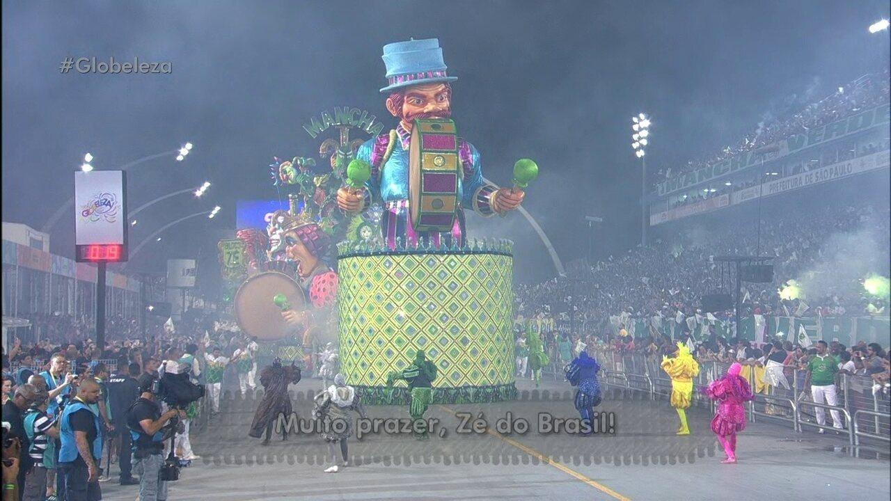 """Mancha Verde homenageia os """"Zés"""" importantes na história do Brasil"""