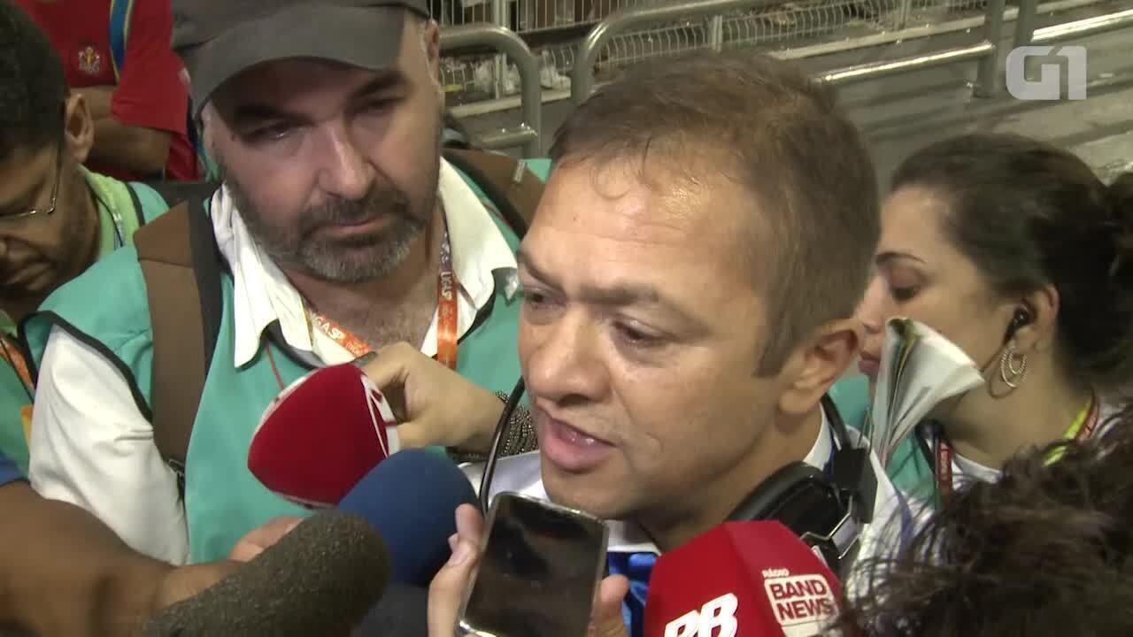 Presidente da Nenê de Vila Matilde reclama que a toda a pista ficou escorregadia