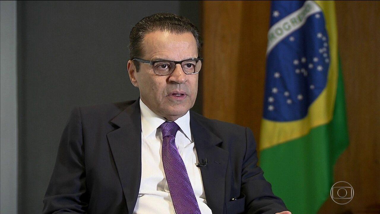 Eduardo Alves diz não saber de quem são os dólares em sua conta na Suíça