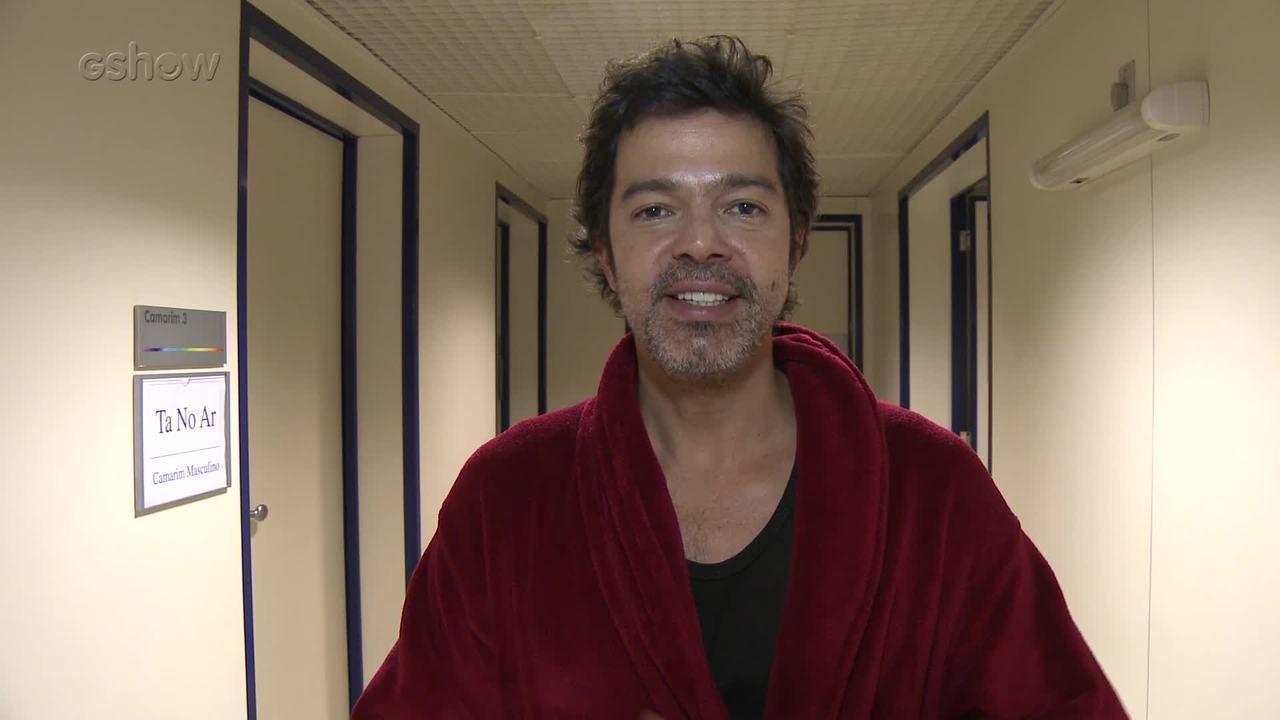 Bruno Mazzeo comenta participação em 'Tá no Ar'