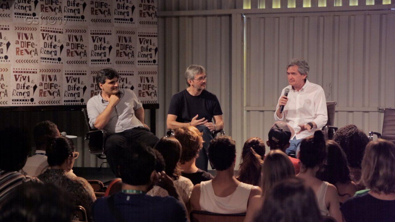 Serginho Groisman participa de wrokshop de Malhação: Viva a Diferença