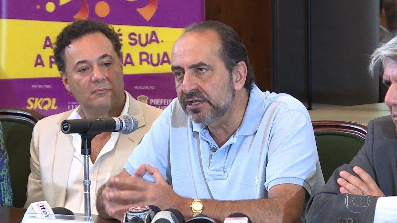 Kalil diz que carnaval em BH pode ter movimentado cerca de R$ 1 bilhão na cidade