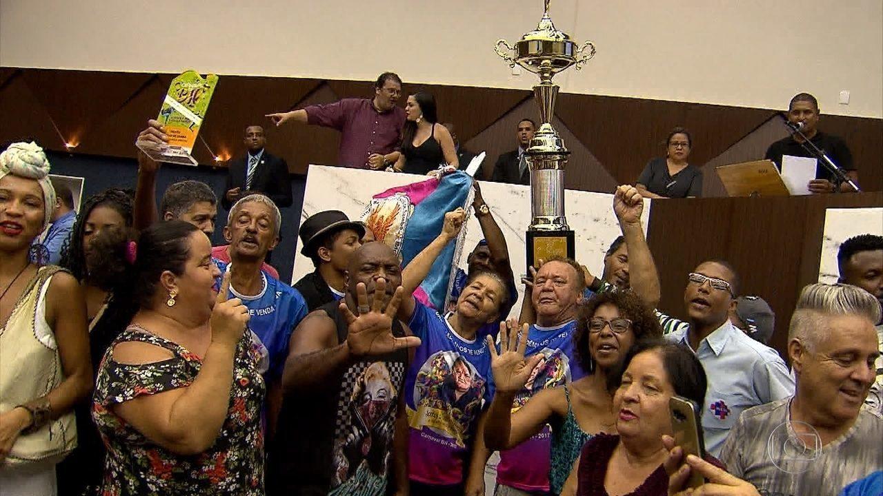 Acadêmicos de Venda Nova vence o carnaval de Belo Horizonte