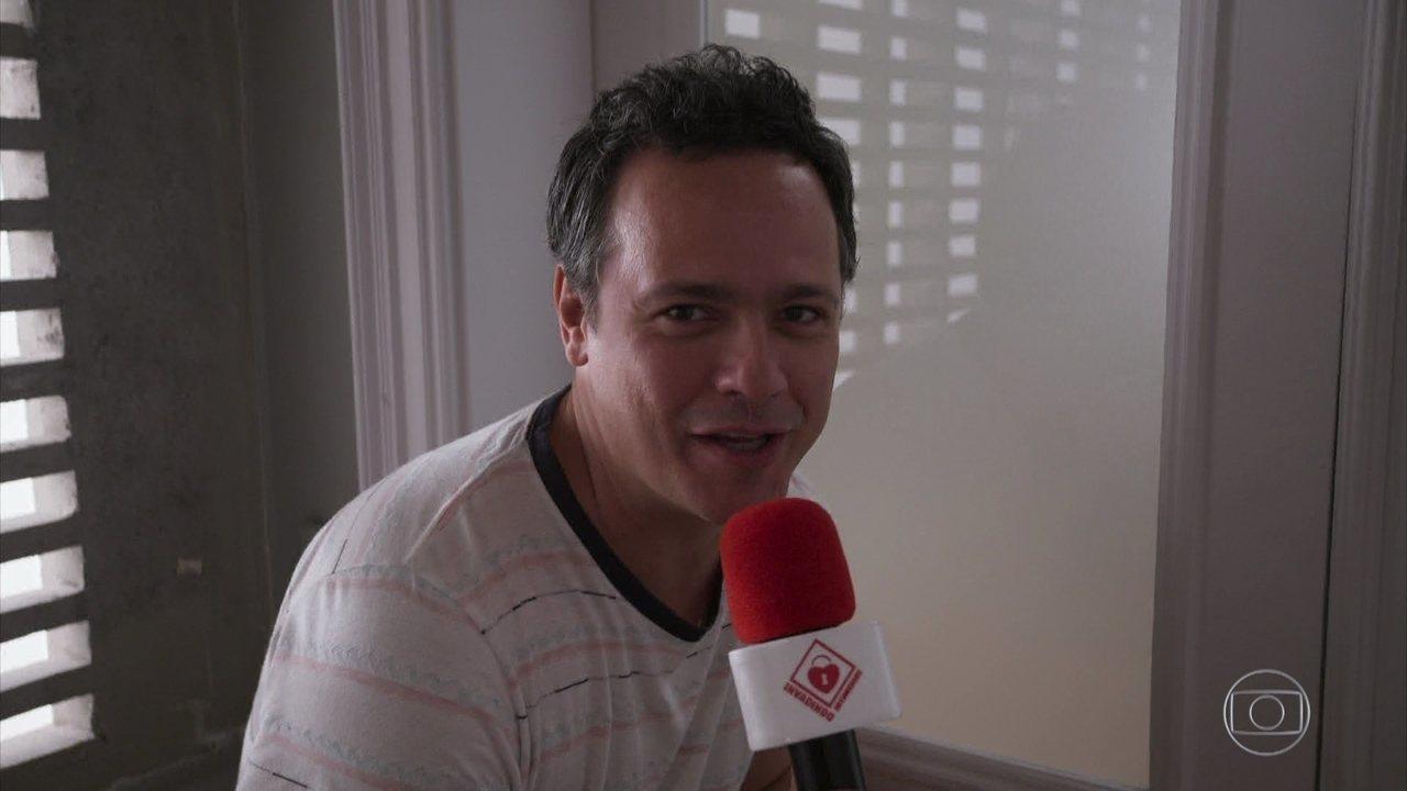 Programa invade a intimidade de Bruno Mazzeo