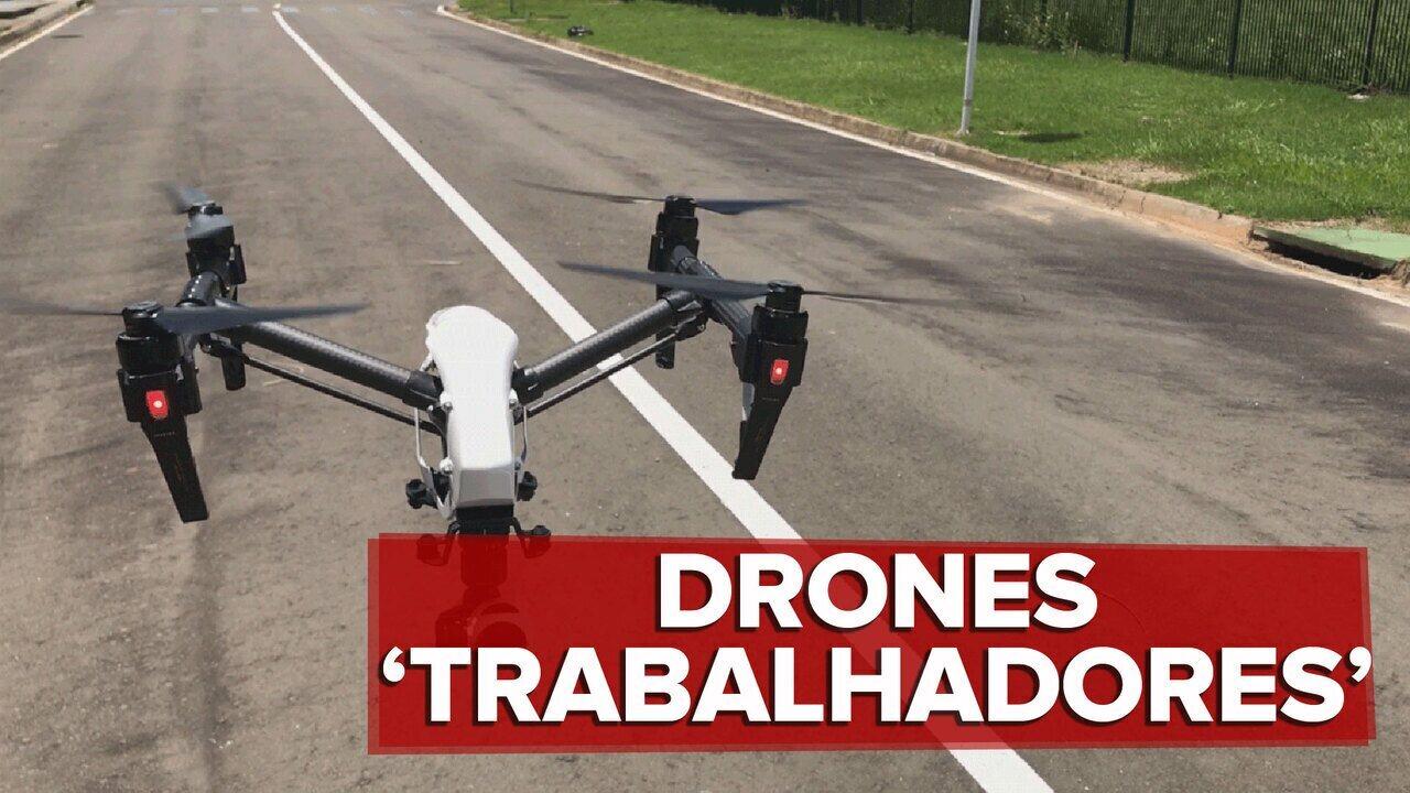 Drones já substituem trabalhadores dentro de empresas no Brasil