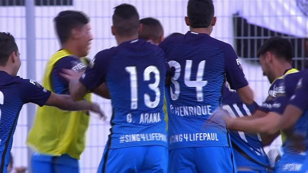 Veja o único gol de Léo Santos como profissional no Corinthians