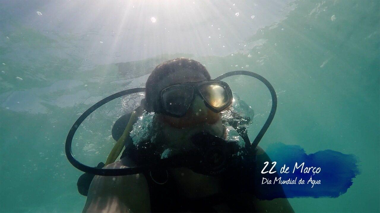 Veja o VT em homenagem a esse bem natural precioso, que é a água.  (Vídeo: Reprodução TV Fronteira )