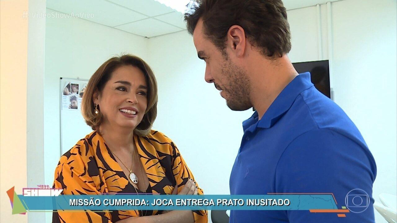 Joaguim Lopes leva 'Misturão gelado' para Suzy Rêgo